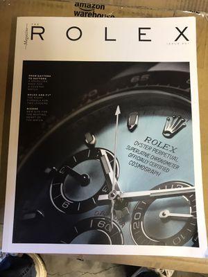 Rolex Magazine issue 1 RARE!! for Sale in Stockton, CA