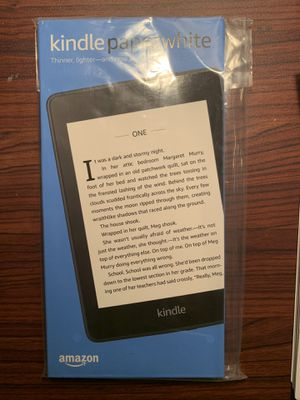 Kindle Paperwhite 8gb waterproof for Sale in Pleasant Hill, CA