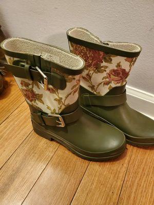 Ralph Lauren Women's Rain Boots Rubber Boots Floral Size 5 for Sale in Chicago, IL