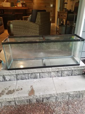55 gallon fish tank full accessories and decorations for Sale in Redmond, WA