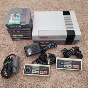 Original Nintendo Nes w/ 8 Games for Sale in Canyon Lake, CA