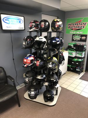 Helmets, jackets, tires, windshields, batteries for Sale in Canton, OH