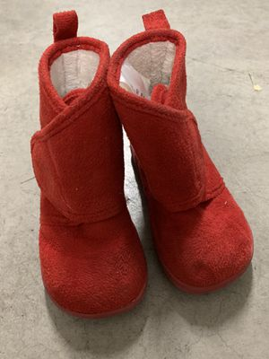 Baby girl red boots - size 6 for Sale in Las Vegas, NV