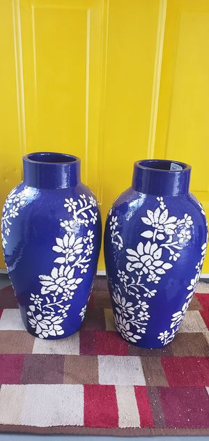 Cobalt Blue Flower Pots for Sale in Norfolk, VA
