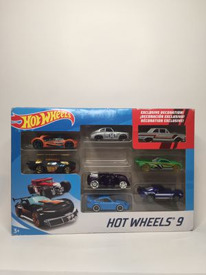 Hot wheels 9 pack gift pack ford thunderbolt for Sale in Reedley, CA