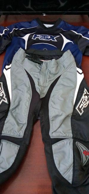 Fox gear.. Kids. Size... Pants 28. Jersey KXL... Excellent. for Sale in Santa Ana, CA