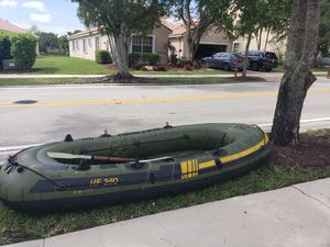 Inflatable fishing boat for Sale in Fort Lauderdale, FL
