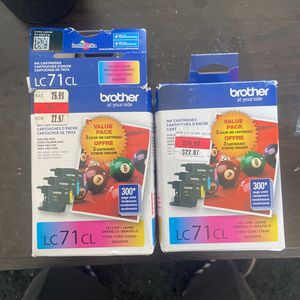 Brother Lc 71cL Cartridge For Printer I Got 2 New for Sale in Santa Ana, CA