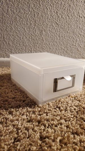 small plastic drawer for Sale in Los Angeles, CA