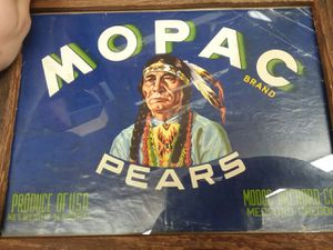 1950's Mopac Pair Advertisement for Sale in Sunbury, OH