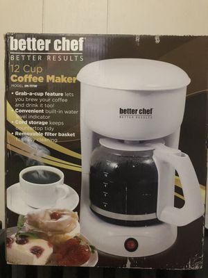 Better Chef 12 cup Coffee maker for Sale in Rockaway, NJ