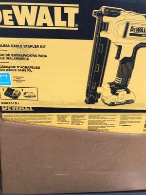 Cordless cable stapler kit for Sale in Hyattsville, MD