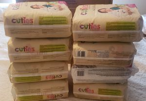 Pampers cuties #6 for Sale in Houston, TX