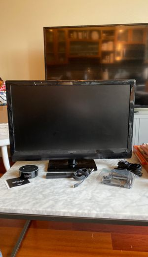 """24"""" Insignia TV with Echo Dot, Fire Stick, and Wall Mounting Hardware for Sale in Seattle, WA"""