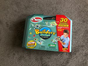 Kinex 30 Model Building Set toys and games builders choice for Sale in Anaheim, CA