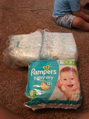 Pampers baby dry for Sale in Austin, TX
