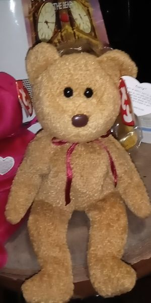 Curly with error on tag rare beanie babie for Sale in Lodi, CA