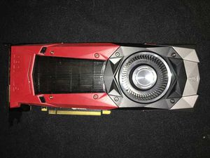 Nvidia Zotac 1080 Founder Edition for Sale in Richlands, NC