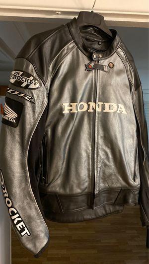 Honda Joe Rocket CBR Leather Jacket size 52 for Sale in Bowie, MD