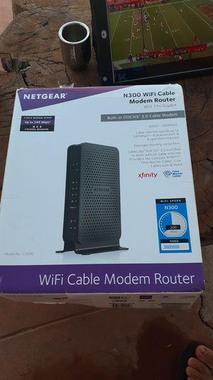 Netgear N300 wifi modem router for Sale in San Diego, CA