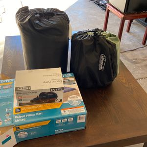 Camping Sleep Equipment PICK UP TODAY OR DELIVERY for Sale in Nellis Air Force Base, NV