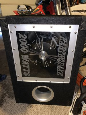 Earthquake Sound BP112 subwoofer for Sale in Mokena, IL