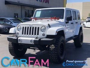 2014 Jeep Wrangler Unlimited for Sale in Bloomington, CA