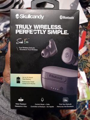 Skullcandy bluetooth wireless earbuds for Sale in South Salt Lake, UT