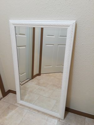 White Mirror , available 2 each 40.00 for Sale in Berea, OH