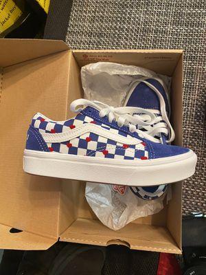 Vans boys autism shoes for Sale in Dinuba, CA