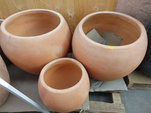 Clay pottery. Large $80 each. Small $45. for Sale in Norwalk, CA