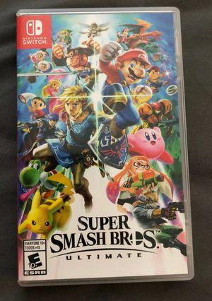 Super Smash Bros Ultimate Nintendo Switch for Sale in Miami, FL