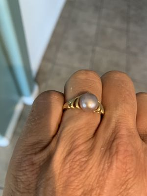 Pink opal or pink pearl ring for Sale in Laveen Village, AZ
