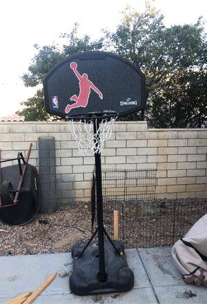 Spalding basketball hoop for Sale in Victorville, CA