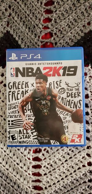 Mortal Kombat X 10 and NBA 2K19 PS4 for Sale in Davenport, FL
