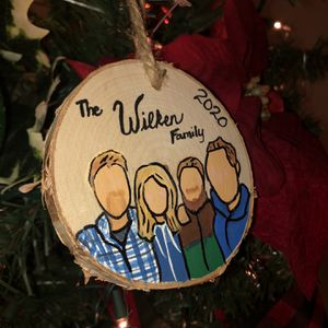 Custom Family Portraits Ornaments for Sale in Sacramento, CA