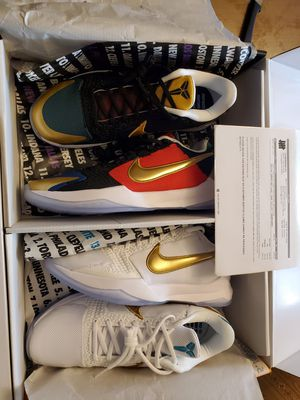Nike Undefeated Kobe 5 Potro What If Pack Size 10.5 for Sale in Beverly Hills, CA