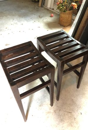 Milling road wooden benches. Pair for Sale in Bethesda, MD