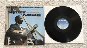 """Muddy Waters """"Muddy Waters At Newport 1960"""" vinyl lp 1965 Chess Records Stereo Repress with blue to fading white labels gorgeous like new collector's for Sale in Placerville, CA"""