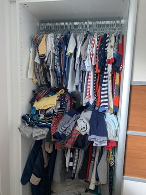 Boy baby clothes 0-3 months for Sale in Morrisville, PA