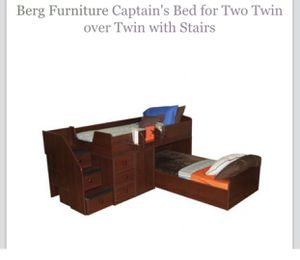 Berg Bunk Bed With Steps for Sale in Apollo, PA