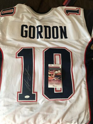 Patriots autographed Josh Gordon jersey for Sale in Hingham, MA