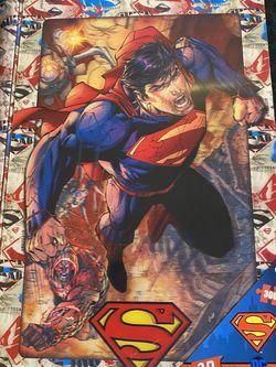 superman 3d puzzle for Sale in Modesto,  CA