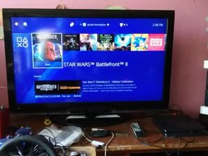 PS4 and PS3 with Sony 46inches TV with remote control and 4 HDMI ports for Sale in Washington, DC