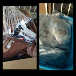 💙♥️ Captain America Gloves/Spiderman plush webs bundle ♥️💙(read description) for Sale in Pomona, CA
