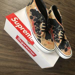 "SUPREME X VANS ""Blood & Semen""' Chukka Pro Shoe for Sale in Manchester, CT"