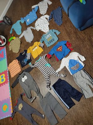 12m boys clothes wanting to trade for Sale in Irving, TX
