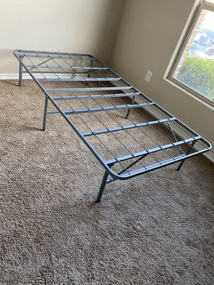 twin size bed box frame for Sale in Saginaw, TX