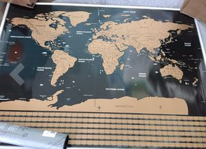Scratch Off World Map Poster for Sale in Randallstown, MD