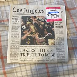 lakers tribute to kobe for Sale in Long Beach,  CA